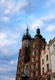 Iglesia en Kraków Fotografía de archivo libre de regalías