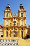 Iglesia en la abadía de Melk Fotos de archivo