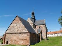 Iglesia en la abadía de Sulejow, Polonia Foto de archivo
