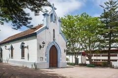 Iglesia en la aldea Imagenes de archivo