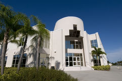 Iglesia en la bahía de la palma, la Florida Fotos de archivo libres de regalías
