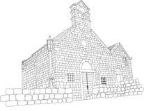 Iglesia en la barra vieja Montenegro Libre Illustration