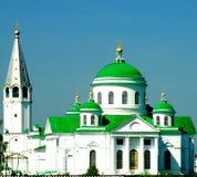 Iglesia en la ciudad de Arzamas Imágenes de archivo libres de regalías