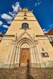 Iglesia en la ciudad de Graz Fotos de archivo libres de regalías