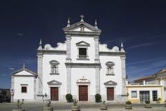 Iglesia en la ciudad de Portugalia Beja Fotografía de archivo