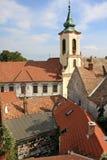 Iglesia en la ciudad de Szentendre imágenes de archivo libres de regalías