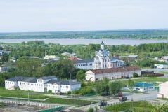 Iglesia en la ciudad de Tobolsk fotos de archivo libres de regalías