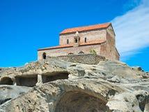 Iglesia en la ciudad de Uplistsikhe, Georgia Imagenes de archivo