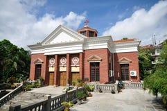 Iglesia en la isla de Gulang Fotografía de archivo