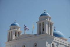 Iglesia en la isla de Paros fotografía de archivo libre de regalías