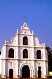 Iglesia en la isla de Vypin Foto de archivo libre de regalías