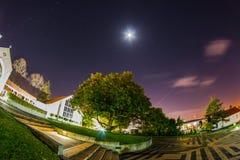 Iglesia en la noche Fotografía de archivo
