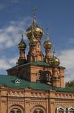 Iglesia en la ondulación permanente Fotografía de archivo libre de regalías