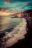Iglesia en la playa Fotografía de archivo