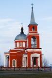 Iglesia en la región de Belgorod, Rusia Foto de archivo
