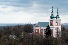 Iglesia en la República Checa de Praga Fotografía de archivo libre de regalías