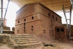 Iglesia en Lalibela, Etiopía Fotos de archivo