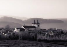 Iglesia en las Azores Imagen de archivo libre de regalías