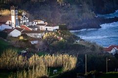 Iglesia en las Azores Fotos de archivo
