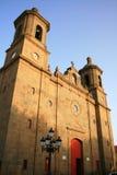 Iglesia en las islas Canarias Fotografía de archivo libre de regalías