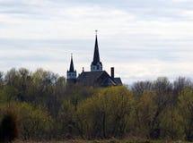 Iglesia en las maderas Imagenes de archivo