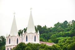 Iglesia en las maderas Imágenes de archivo libres de regalías