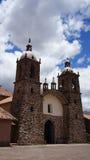 Iglesia en las nubes Imagen de archivo
