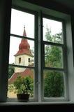 Iglesia en Latvia Fotografía de archivo libre de regalías