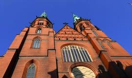 Iglesia en Legnica Fotos de archivo