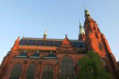 Iglesia en Legnica Fotografía de archivo