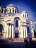 Iglesia en Lituania Imágenes de archivo libres de regalías