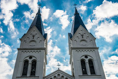 Iglesia en Lituania foto de archivo libre de regalías