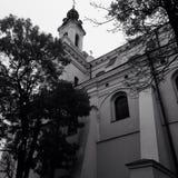 Iglesia en Lublin Fotos de archivo
