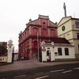 Iglesia en Lublin Foto de archivo