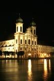 Iglesia en Lucerna fotografía de archivo libre de regalías