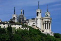 Iglesia en Lyon Foto de archivo libre de regalías