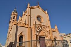 Iglesia en Málaga fotos de archivo libres de regalías