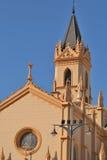 Iglesia en Málaga foto de archivo