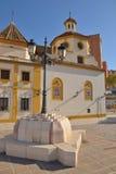 Iglesia en Málaga fotografía de archivo libre de regalías
