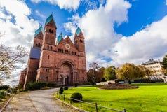 Iglesia en mún Homburg Imagen de archivo libre de regalías