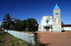 Iglesia en Mananara Foto de archivo libre de regalías