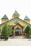 Iglesia en Manokwari Fotos de archivo