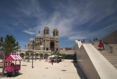 Iglesia en Marsella Foto de archivo libre de regalías
