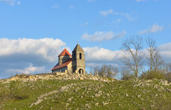 Iglesia en Montenegro Foto de archivo libre de regalías