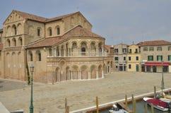 Iglesia en Murano Fotografía de archivo libre de regalías