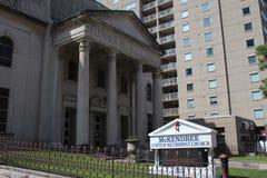 Iglesia en Nashville Foto de archivo libre de regalías