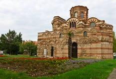 Iglesia en Nessebar Foto de archivo libre de regalías