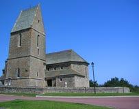 Iglesia en Normandía Fotos de archivo