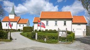 Iglesia en Noruega Fotografía de archivo