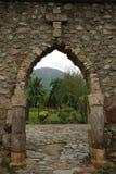 Iglesia en Nuku Hiva Fotos de archivo libres de regalías